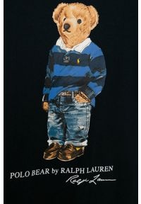 Niebieski t-shirt Polo Ralph Lauren polo, na co dzień, casualowy