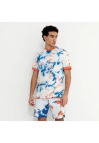 House - Koszulka z motywem tie-dye - Kremowy. Kolor: kremowy