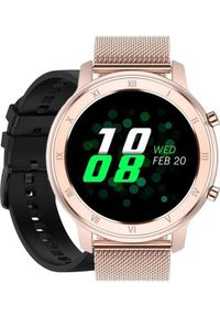Smartwatch Pacific 17 Różowy (15559-uniw). Rodzaj zegarka: smartwatch. Kolor: różowy