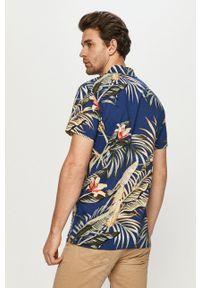 PRODUKT by Jack & Jones - Produkt by Jack & Jones - Koszula. Okazja: na co dzień. Kolor: niebieski. Materiał: tkanina. Długość rękawa: krótki rękaw. Długość: krótkie. Styl: casual