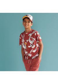 Reserved - T-shirt Bugs Bunny - Czerwony. Kolor: czerwony