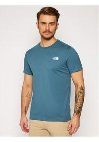 Niebieski t-shirt The North Face