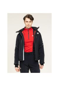 Czarna kurtka narciarska Descente