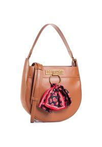 Brązowa torebka klasyczna Love Moschino klasyczna