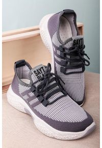 Szare buty sportowe Casu
