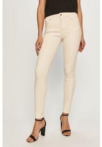 Beżowe jeansy Morgan