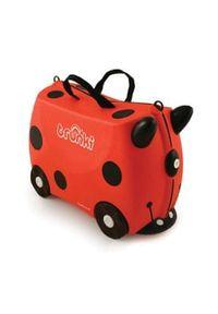 Czerwona walizka Trunki