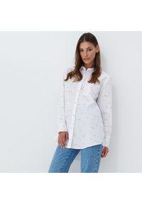 Mohito - Koszula oversize - Biały. Kolor: biały
