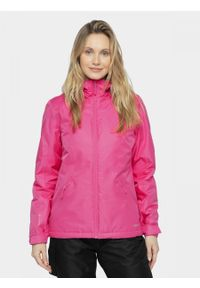 Różowa kurtka narciarska outhorn