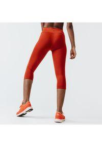 KALENJI - Rybaczki Do Biegania Run Support Damskie. Materiał: poliester, elastan, materiał. Sport: bieganie