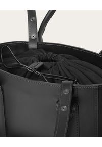 BALAGAN - Czarna torba Mini Sal Tote. Kolor: czarny. Styl: casual. Rodzaj torebki: na ramię