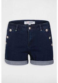 Morgan - Szorty jeansowe. Okazja: na co dzień. Kolor: niebieski. Materiał: jeans. Styl: casual #2