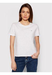 Tommy Jeans T-Shirt Soft Tee DW0DW06901 Szary Regular Fit. Kolor: szary