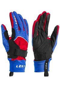 Leki - LEKI Rękawice Circuit Shark MF Touch Royal/Red