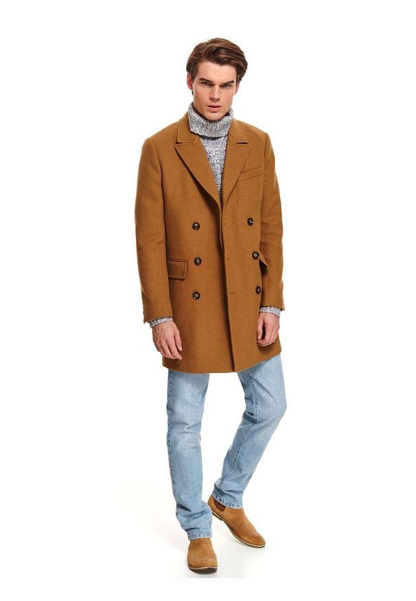 Brązowy płaszcz TOP SECRET