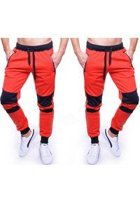 Czerwone spodnie dresowe Recea