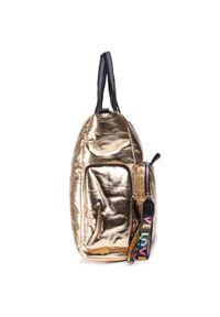 Złota torebka klasyczna Monnari na ramię