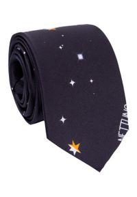 Niebieski krawat Giacomo Conti w kolorowe wzory