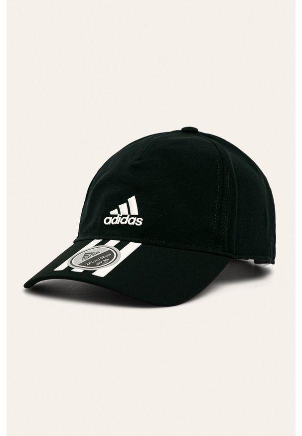 Czarna czapka z daszkiem adidas Performance