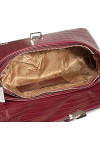 Czerwona torebka klasyczna Puccini