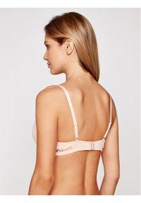 Beżowy biustonosz push up Emporio Armani Underwear