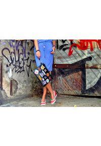 Zapato - półbuty na koturnie - skóra naturalna - model 024 - kolor niebieski. Okazja: na spotkanie biznesowe. Kolor: niebieski. Materiał: skóra. Wzór: nadruk, gładki, kolorowy. Obcas: na koturnie. Styl: sportowy, glamour, elegancki, klasyczny, biznesowy. Wysokość obcasa: wysoki