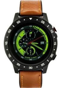 Smartwatch Pacific ZY645D Brązowy. Rodzaj zegarka: smartwatch. Kolor: brązowy