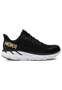 Czarne buty do biegania Hoka One One z cholewką