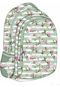 Plecak St. Majewski w kwiaty