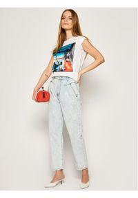 iBlues T-Shirt Dada 79710902200 Biały Regular Fit. Kolor: biały #3