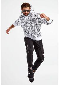 Versace Jeans Couture - BLUZA VERSACE JEANS COUTURE. Typ kołnierza: kaptur. Materiał: bawełna. Długość: długie