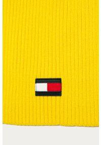 Żółty szalik TOMMY HILFIGER