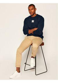 Niebieski sweter klasyczny Armani Exchange