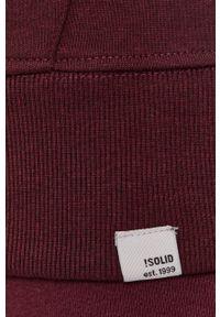 !SOLID - Bluza. Okazja: na co dzień. Kolor: czerwony. Materiał: bawełna, dzianina. Wzór: gładki. Styl: casual