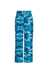 Descente - Spodnie DESCENTE SELENE JR. Materiał: jeans. Wzór: aplikacja, nadruk. Sport: narciarstwo