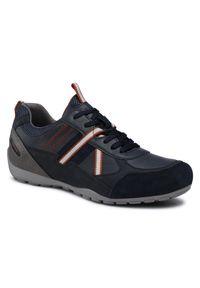 Geox Sneakersy U Ravex A U043FA 0PTEK C4002 Granatowy. Kolor: niebieski