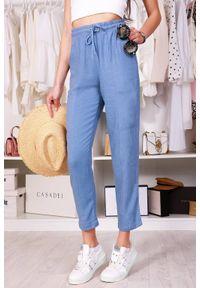 Niebieskie spodnie IVET casualowe, na co dzień