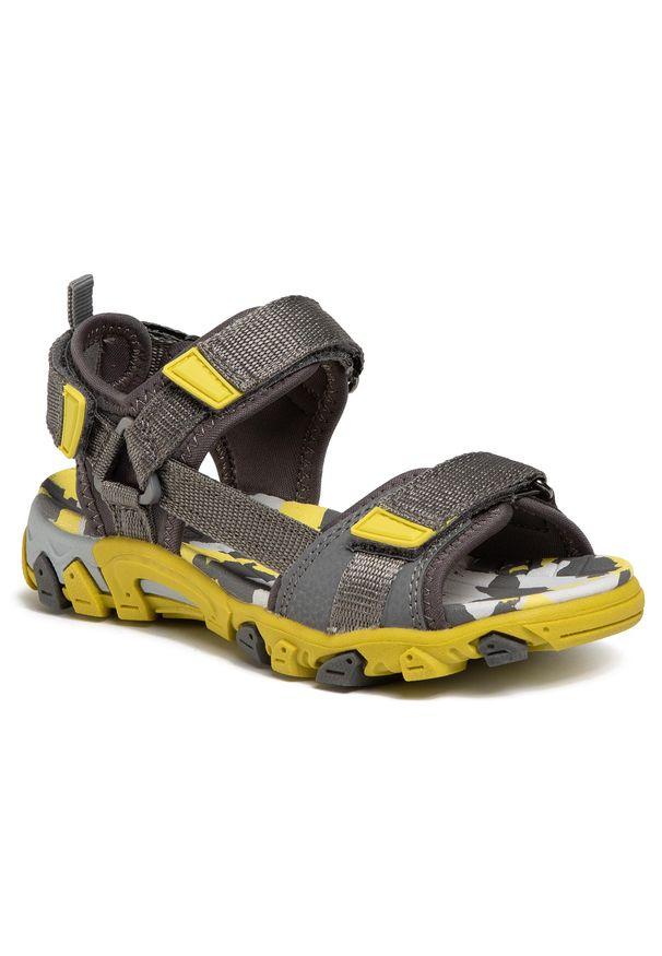 Szare sandały Superfit na lato