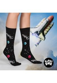 Skarpetki Bobby Sox - kosmos BS13. Materiał: bawełna, poliamid, materiał, elastan