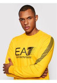 EA7 Emporio Armani Bluza 3KPM67 PJ05Z 1604 Żółty Regular Fit. Kolor: żółty