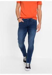 """Dżinsy dresowe Skinny Fit Straight bonprix niebieski """"stone"""". Kolor: niebieski #3"""