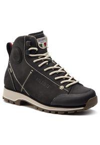 Czarne buty trekkingowe Dolomite z cholewką