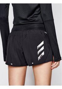 Czarne spodenki sportowe Adidas do biegania