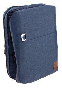 ROVICKY - Plecak męski granatowy Rovicky NB9764-4351 NAVY. Kolor: niebieski. Materiał: materiał