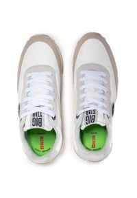 Big-Star - Sneakersy BIG STAR - HH274527 White/Grey. Okazja: na co dzień. Kolor: biały. Materiał: zamsz, materiał, skóra. Szerokość cholewki: normalna. Styl: casual