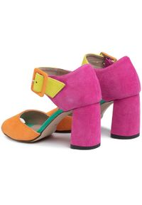 Różowe sandały Karino casualowe, na co dzień #8