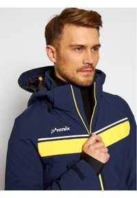 Phenix Kurtka narciarska Stratos ESA72OT33 Granatowy Regular Fit. Kolor: niebieski. Sport: narciarstwo #8