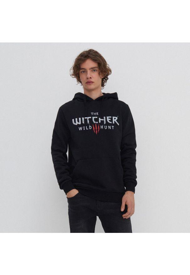 House - Bluza z kapturem The Witcher - Czarny. Typ kołnierza: kaptur. Kolor: czarny