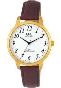 Brązowy zegarek Q&Q klasyczny