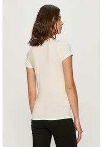 Biała bluzka Morgan z nadrukiem, na co dzień